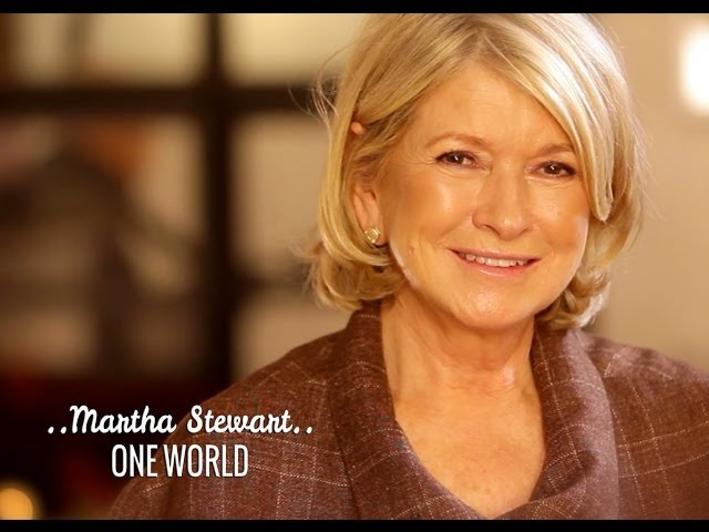 ONE WORLD: Martha Stewart & Deepak Chopra