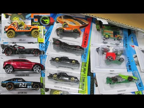 2015 B Case Hot Wheels Factory Sealed Case Unboxing by Race Grooves