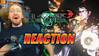 MAX REACTS: Bayonetta 3 Reveal Trailer