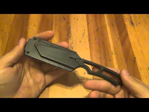 Knife Review : Smith And Wesson Tanto Neck Knife