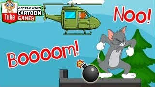 Tom And Jerry - Jerry's Bombing Helicopter. Fun Tom and Jerry 2017 Games. Baby Games #LITTLEKIDS