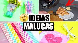 IDÉIAS MALUCAS COM FERRO DE PASSAR QUE FUNCIONAM 😱 PRA VOCÊ TESTAR