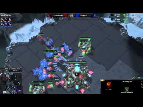 ZvP Mana vs Bly -g1- King Starcraft 2 HD polski komentarz Heart of the Swarm
