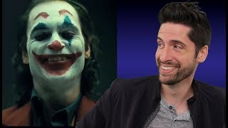 Joaquin Phoenix Joker Makeup Reveal  (My Thoughts)