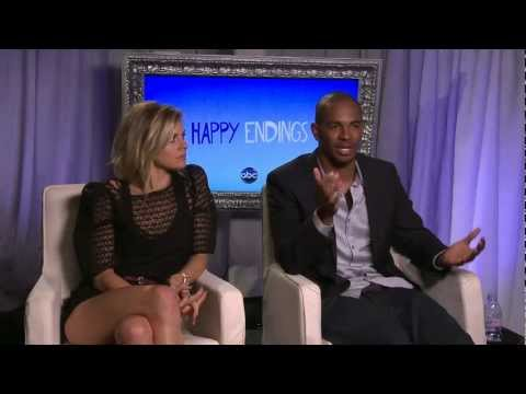 'Happy Endings': Eliza Coupe and Damon Wayans Jr. on Season 2