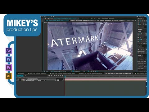 How to add effects in 360 degree video with After Effects