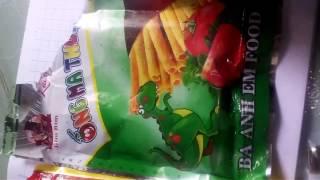Một số các thức ăn độc hại