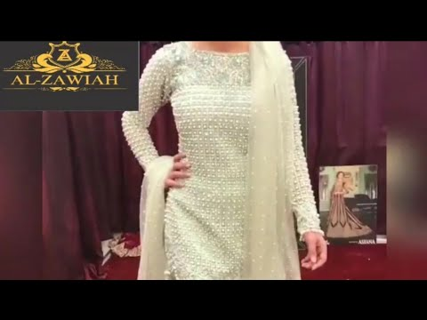 Latest Designer Wedding And Party Wear Suits, Lehenga And Gown Designs Alzawiah Order(+917222002224)