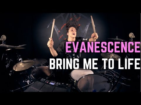 Download Lagu Evanescence - Bring Me To Life - Drum Cover MP3 Free