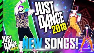 Just Dance 2018 | SONG LIST OFFICIAL! | September | NEW SONGS! (P3)