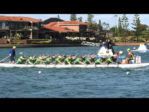 This is Dragon Boat Paddling - Australian National Dragon Boat Team