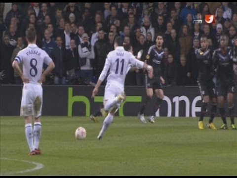 gareth bale goals and long range shots 2012-2013 part 1