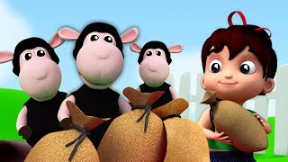 Baa Baa Black Sheep | Nursery Rhymes For kids | Baby Songs By Junior Squad