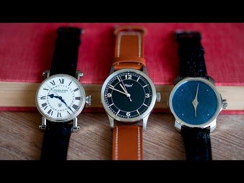 Three On Three: Independent Watches Under $15,000
