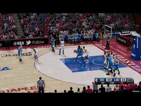 NBA Playoffs Golden State Warriors VS Los Angeles Clippers 2014-04-19
