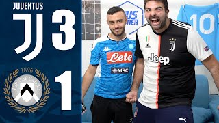 DI NUOVO PRIMI!!! JUVENTUS 3-1 UDINESE | REACTION LIVE w/FIUS eD Enry