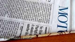Crea Un Bastidor Para Tejer Con Cartón - Hazlo Tu Mismo Manualidades - Guidecentral