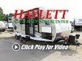 HaylettRV - 2018 Coachmen 257BHS Freedom Express Ultralite Outside Kitchen Bunkhouse Travel Trailer