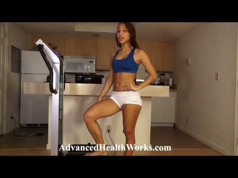 Massage And Stretch Workout With Vibe Pro Vibrational Trainer