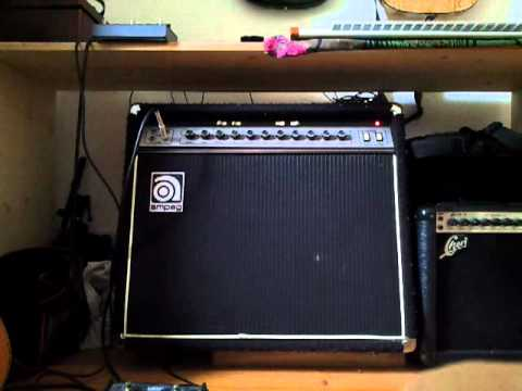 Ampeg G-212 Guitar Amp Review