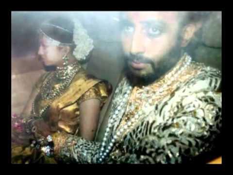 Aishwarya rai   Abhishek wedding pics.flv