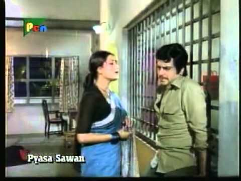 Tera Saath Hai To - Pyaasa Sawan - 1981.flv video