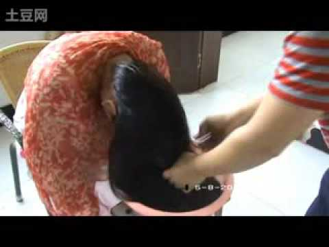 Long Hair Head Shave Free MP4 Video Download