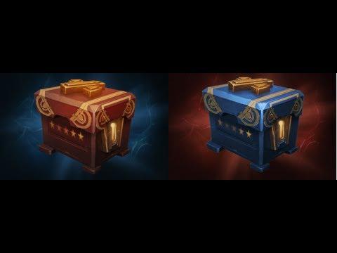 DOTA2 Treasure of Champions and Treasure of Challengers