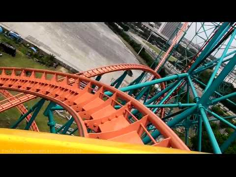 Titan (HD POV) Six Flags Over Texas