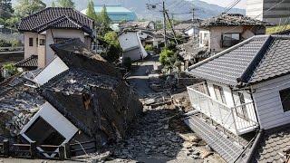 زلزال يضرب إيطاليا  Un fort séisme frappe l'Italie