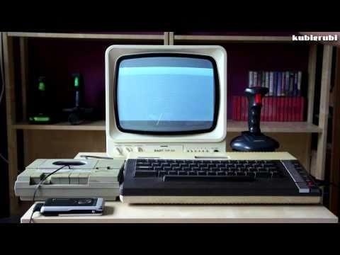 kubigrubi i grubiciele - Atari 800XL +  XC12 + Unitra Biazet - Preliminary Monty