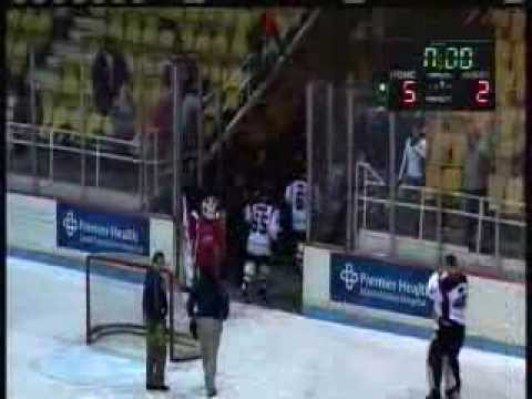 Dayton Demonz Hockey 1 30 14 Game Winning Highlightz Post Game Commentz Coach & Starz of Game