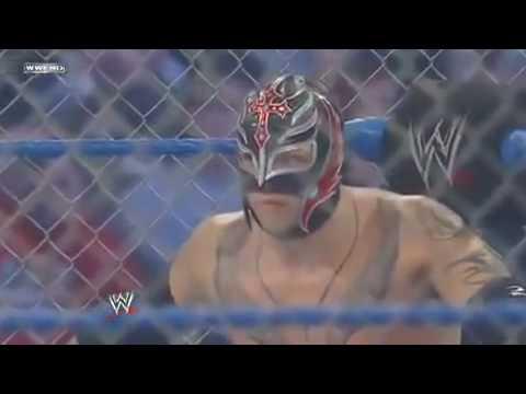 Wwe Smackdown Rey Mysterio Vs Batista (2010) 1 2 video