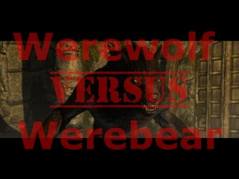 Werewolf Vs. Werebear! Skyrim: Dragonborn DLC Werebear Quest (Walkthrough Commentary)