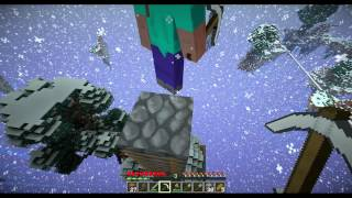 Minecraft Co-op #14 Floating Island 120+
