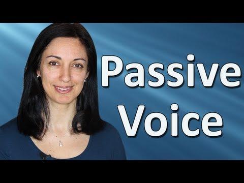 Passive voice lesson plan esl