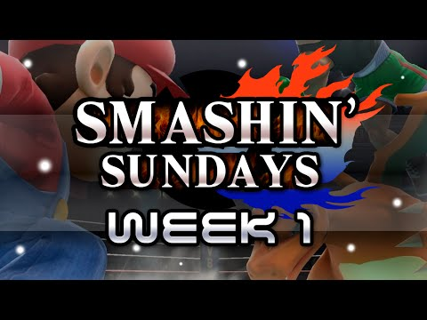 Smashin' Sundays - (Melee) Week 1