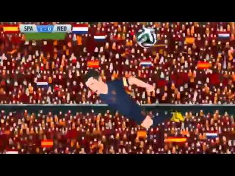 Spain 1-5 Netherlands Mundial 2014 Parodia