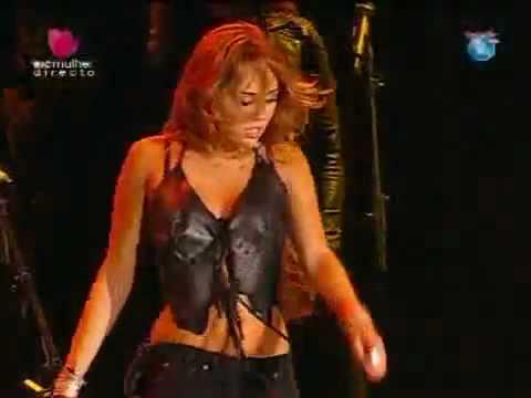 Miley Cyrus nackter Rock