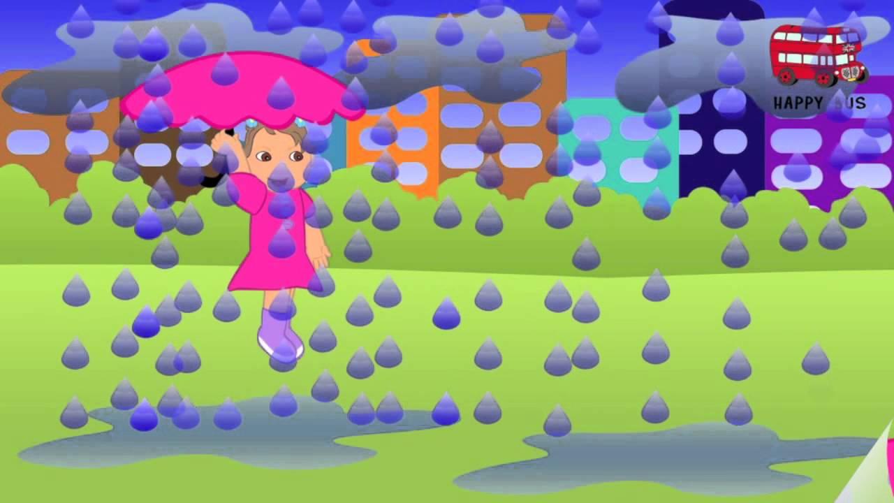 Песню дождь детскую