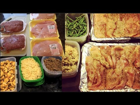 Bodybuilding Food Preparation