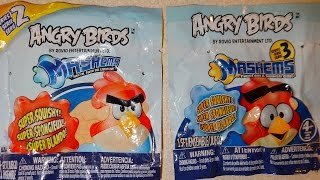 Angry Birds Mashems Squishy Figures Blind Bags Series 2 & 3 Mystery Toys Collection