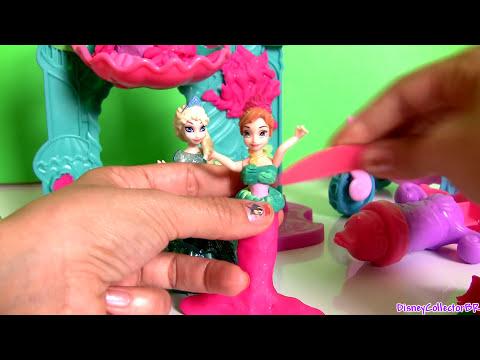 Play Doh Castelo da Princesa Ariel - El Castillo de La Sirenita Ariel Playdough Undersea Castle