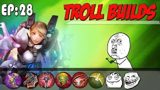 INSPIRED TO USE WEAPON POWER CELESTE! | Vainglory Troll Builds Ep. 28 [Lane Gameplay]
