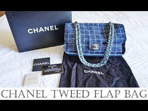 Chanel Tweed Flap Bag Review - History, Design, Quality, Wear & Tear, Price, Purchase Story
