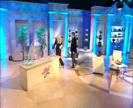 Luxury water on The Alan Titchmarsh Show