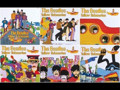 Hot Wheels 2016 The Beatles Yellow Submarine Series Morris Mini Kool Kombi