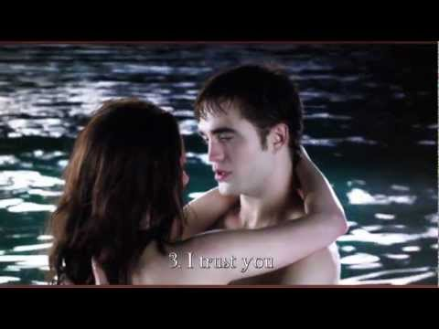 bella and edward kissing scene breaking dawn www