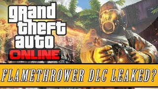 "GTA 5 DLC - Flamethrower Gun DLC Online ! ""GTA 5 DLC"" And New ""GTA 5 DLC"" (GTA V)"