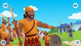 Bible for kids | David and goliath | Funny Games
